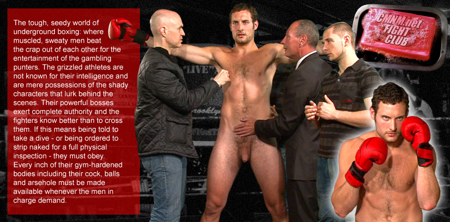 The tough, seedy world of underground boxing: where muscled, sweaty men beat